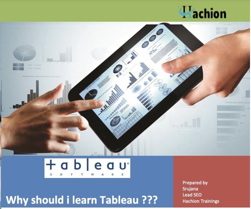 Why should i learn Tableau
